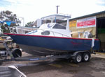 "BB010 ""Alloy Sea Boat - Standard Targa top"""