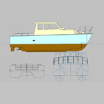 "BB260 ""Steel or aluminium Catamaran 9 Metre"""